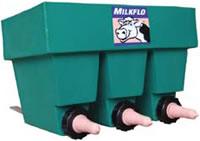 Milkflo 3 Station Compartment Feeder