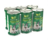 Country Meaty Feast Dog Food 1200g