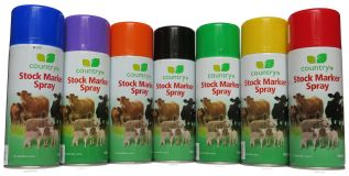 Country Stock Marker Spray