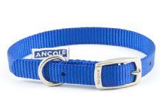 Nylon Dog Collar - Blue