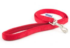 Nylon Dog Lead - Red