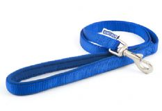 Nylon Dog Lead - Blue