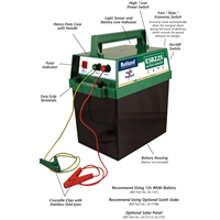 Rutland ESB225 Battery Electric Fence Energiser 08-102