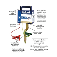 Rutland ESB25 Battery Fence Energiser 08-025