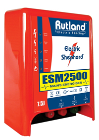 Rutland ESM2500 Mains Fence Energiser 09-107R