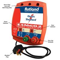 Rutland ESM602 Mains Fence Energiser 09-121R
