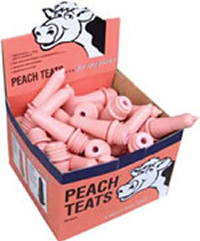 Peach Teat Screw-in