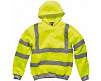 Dickies High Visibility Safety Hooded Sweatshirt